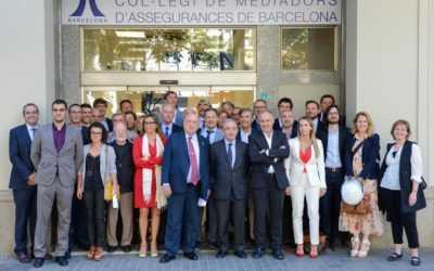 Formem part de la Junta de Govern del Col·legi de Mediadors d'Assegurances de Barcelona